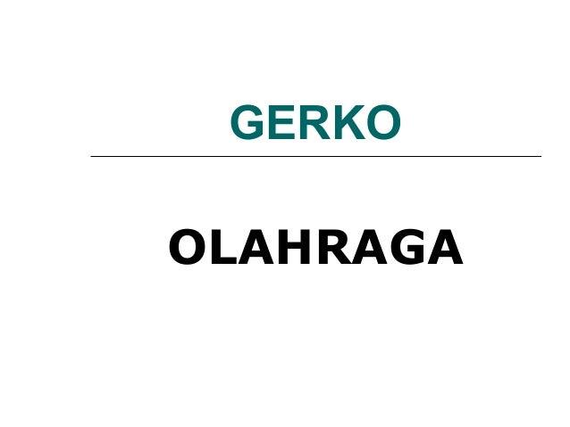 GERKOOLAHRAGA