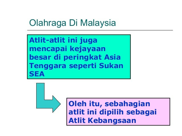 Olahraga Di MalaysiaAtlit-atlit ini jugamencapai kejayaanbesar di peringkat AsiaTenggara seperti SukanSEA         Oleh itu...
