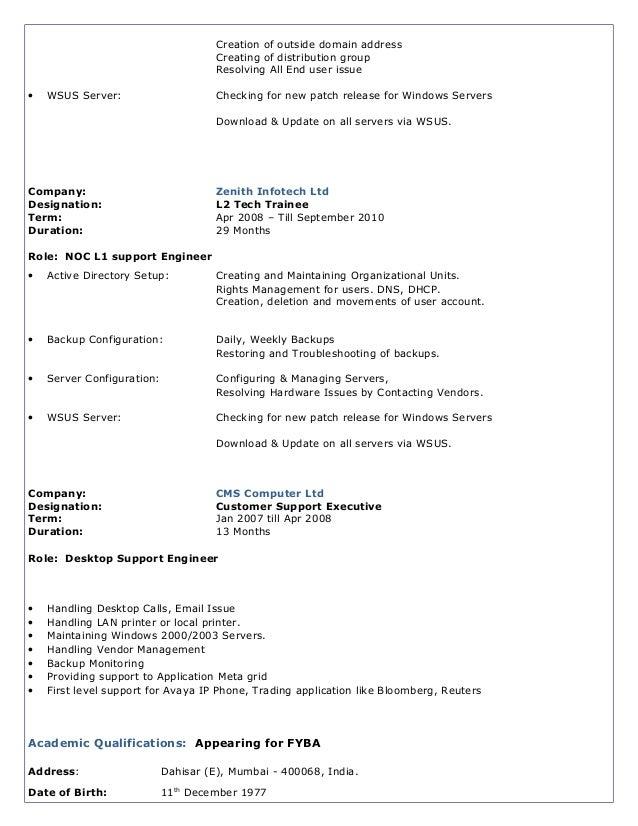 Rakesh New Resume Slide 2