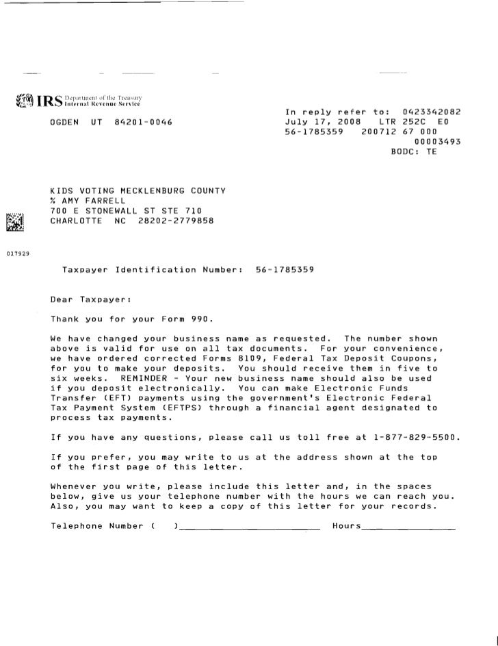 I n reply refer to:     0423342082         OGDEN      UT     84201-0046                                       J u l y 17, ...