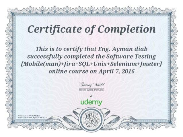 Software Testing [Mobile(man)+Jira+SQL+Unix+Selenium+J