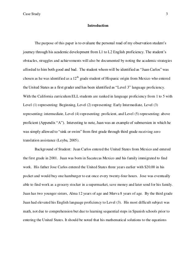 Writing a case study essay