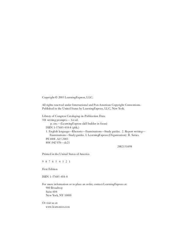 501writingprompts