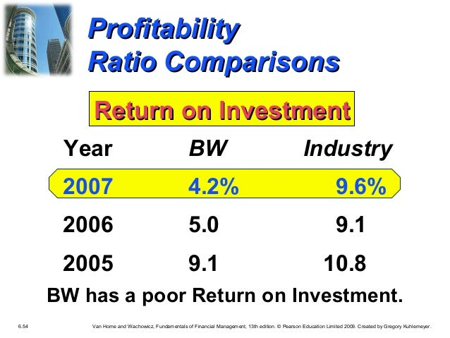 And management analysis pdf investments