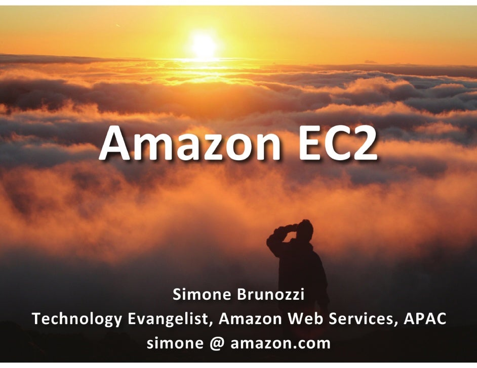 Amazon Web Service - Amazon EC2