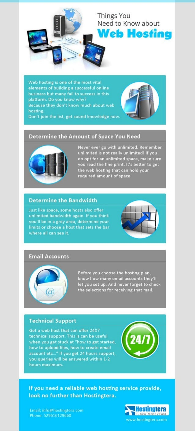 Things You Need to Know about Web Hosting