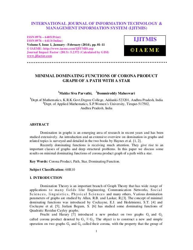International Journal of Information TechnologyINFORMATION TECHNOLOGY & INTERNATIONAL JOURNAL OF & Management Information ...