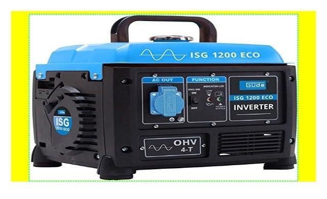 G/ÜDE ISG 1200 ECO Stromerzeuger Inverter Generator 40657