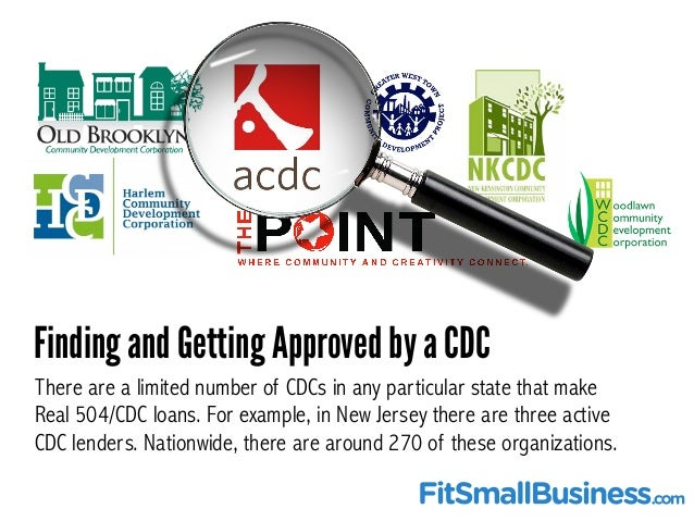 504 CDC Loans - What They Are And How They Work