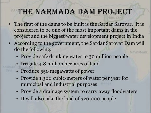 project case study on narmada bachao andolan Every endeavour shall be made to see that the project is completed as expeditiously as possible  seeking stoppage of construction on the sardar sarovar dam has paved the way for completing the project to attain full envisaged benefitssupreme court's decision y patkar led narmada bachao andolan had filed a written petition with the supreme.