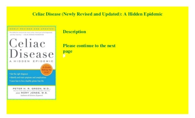 Celiac Disease Newly Revised And Updated A Hidden Epidemic Kindle