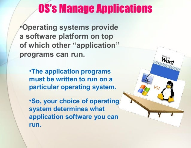 operating system and application software pdf