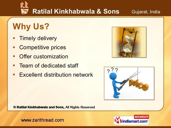 Why Us? <ul><li>Timely delivery </li></ul><ul><li>Competitive prices </li></ul><ul><li>Offer customization </li></ul><ul><...