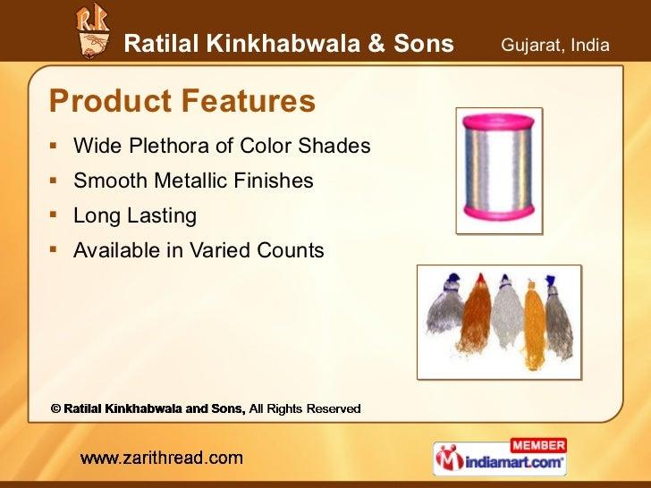Product Features <ul><li>Wide Plethora of Color Shades </li></ul><ul><li>Smooth Metallic Finishes </li></ul><ul><li>Long L...