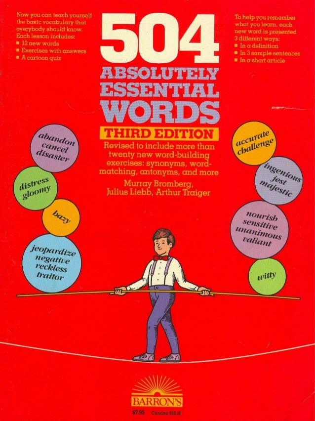 Absolutely Essential Words, 5th Edition by Murray ...