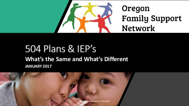 504 Plan Or Iep Whats Difference >> 504 Plans Or Iep 2017 Slideshare