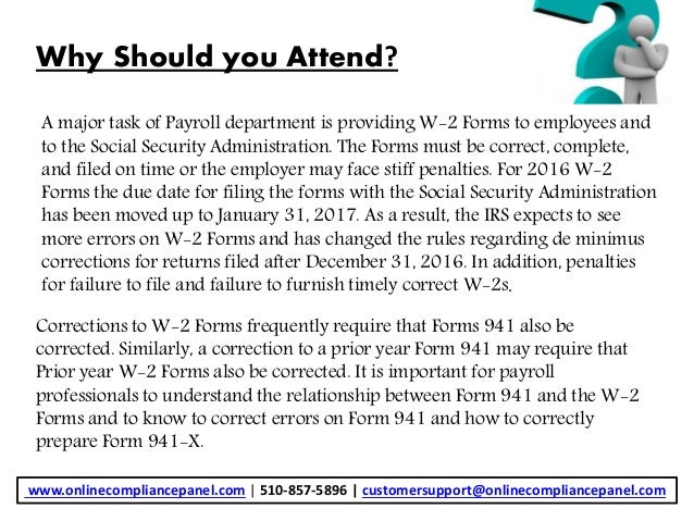 941 form correction  Payroll: How to Effectively Correct Forms W-12 and Amend ...