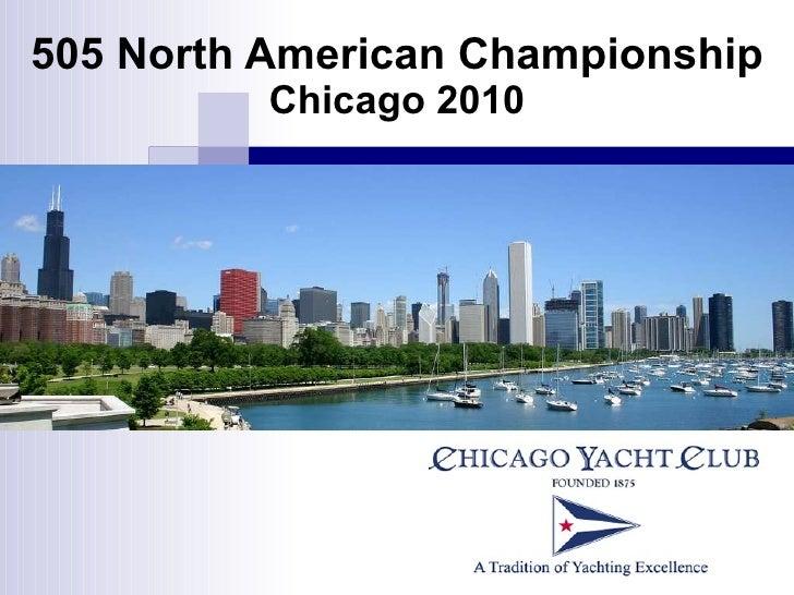 505 North American Championship  Chicago 2010