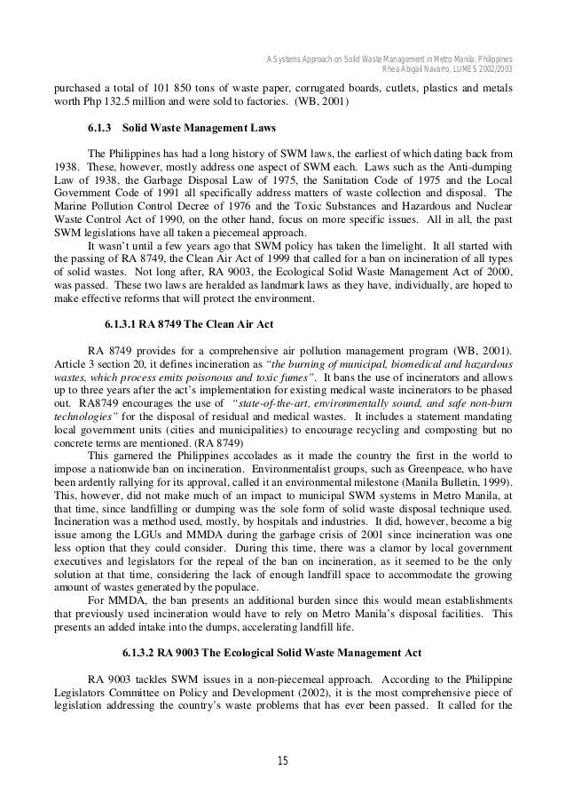 thesis solid waste management philippines-1