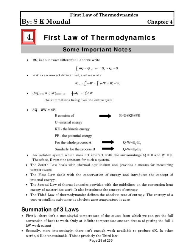 pknagsolution thermodynamics by sk mondal – Thermodynamics Worksheet