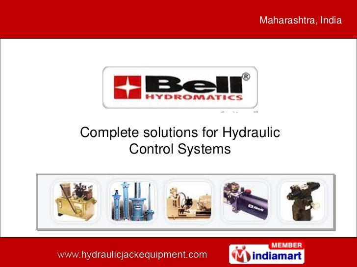 Maharashtra, IndiaComplete solutions for Hydraulic      Control Systems