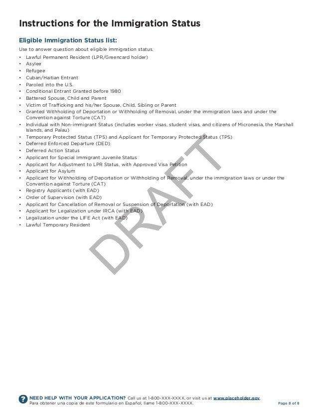 CMS Draft - Application for Individual Health Insurance (No Financial)