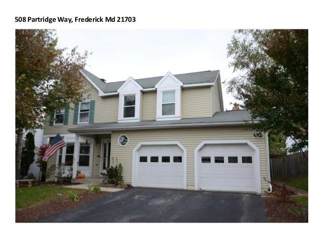 508 Partridge Way, Frederick Md 21703