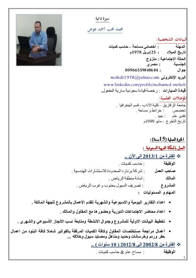سيرة ذاتية محمد محب