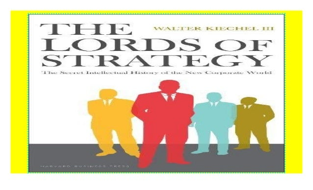 lords of strategy and innovators dilemma