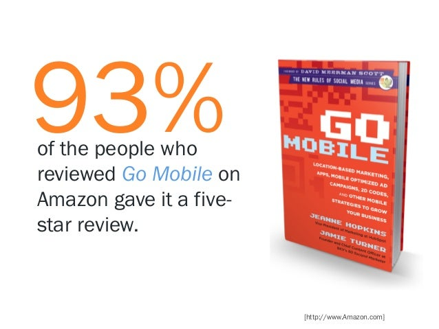 93%  of the people who reviewed Go Mobile on Amazon gave it a fivestar review.  [http://www.Amazon.com]