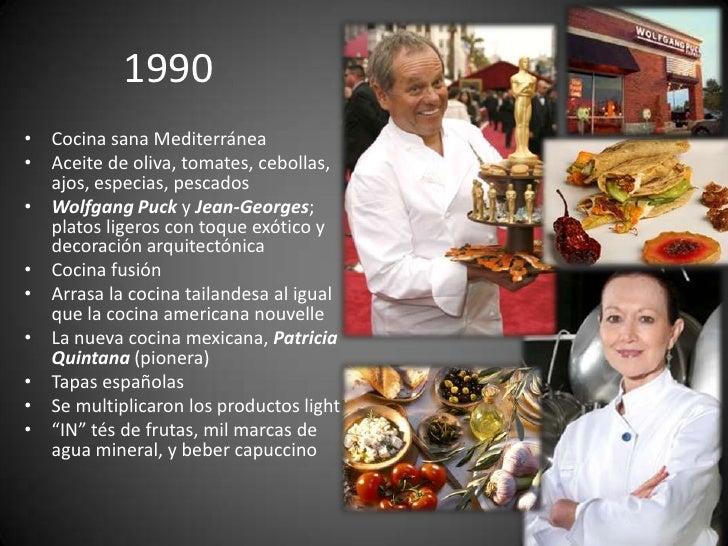 Historia y evolucion de la cocina gourmet 5 decadas de for Que es cocina de autor