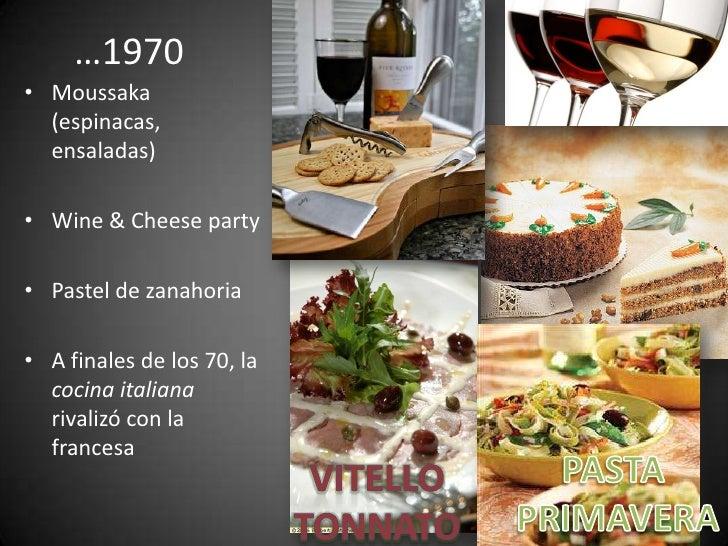 Historia Y Evolucion De La Cocina Gourmet 5 Decadas De