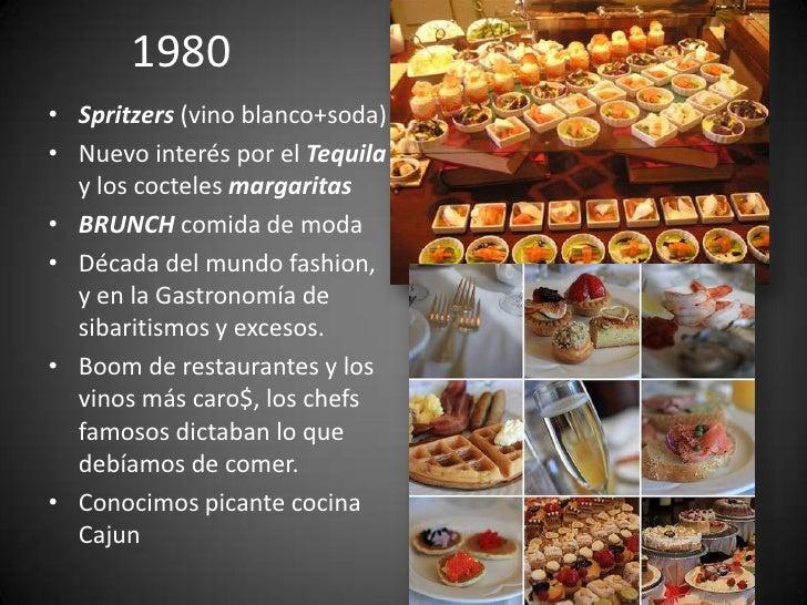 Historia y evolucion de la cocina gourmet 5 decadas de for Historia de la gastronomia pdf