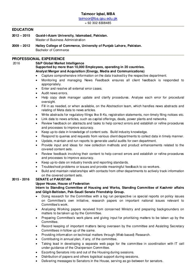 Nice Commerce Energy Resume Composition - Administrative Officer ...