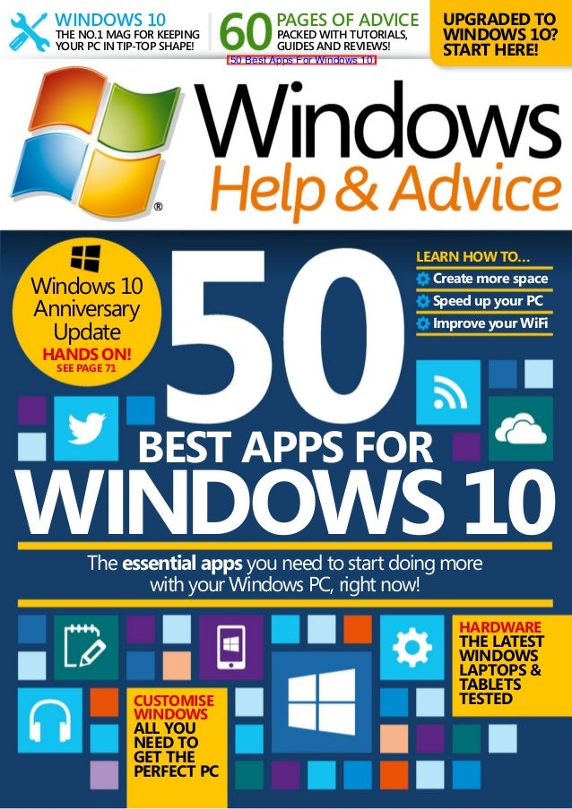 50 best apps for windows 10