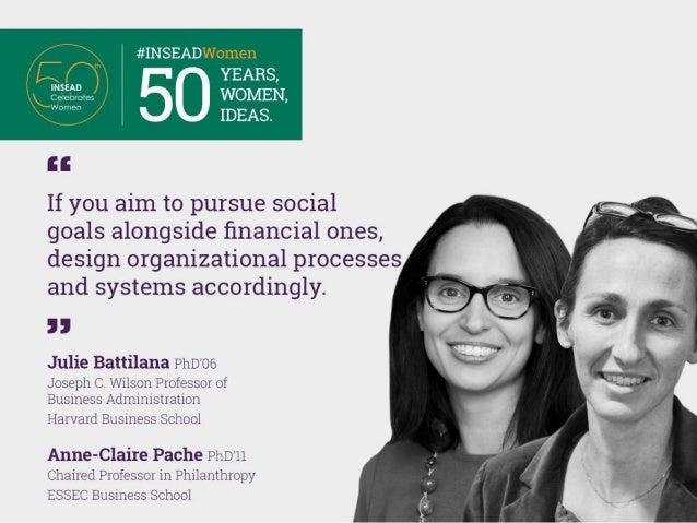 50 Years, 50 Women, 50 Ideas Slide 2