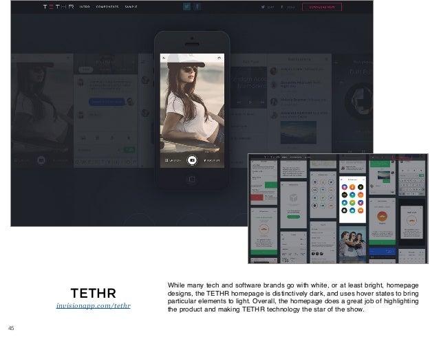 50 brilliant homepage design