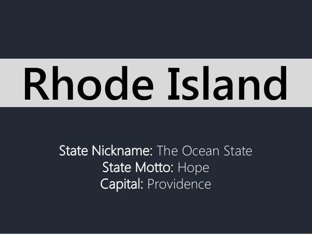Rhode Island You