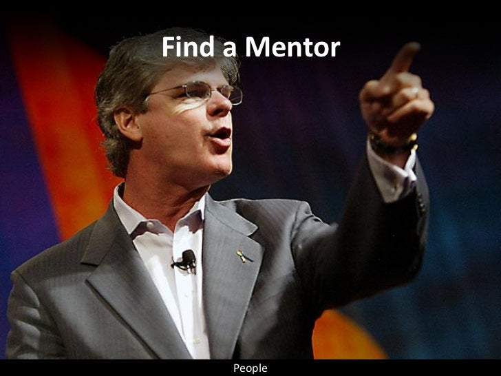 Find a Mentor          People