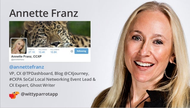 50 Customer Service Professionals to Follow on Twitter in 2015 Slide 2