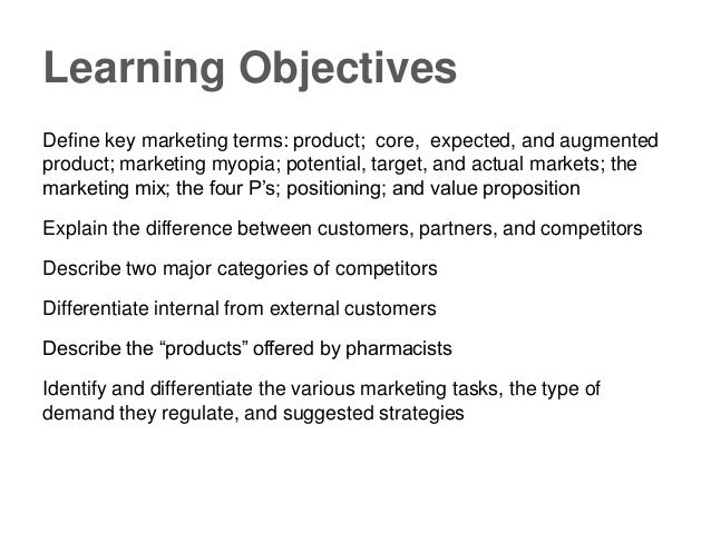 Chapter 2 Important Concepts in Marketing