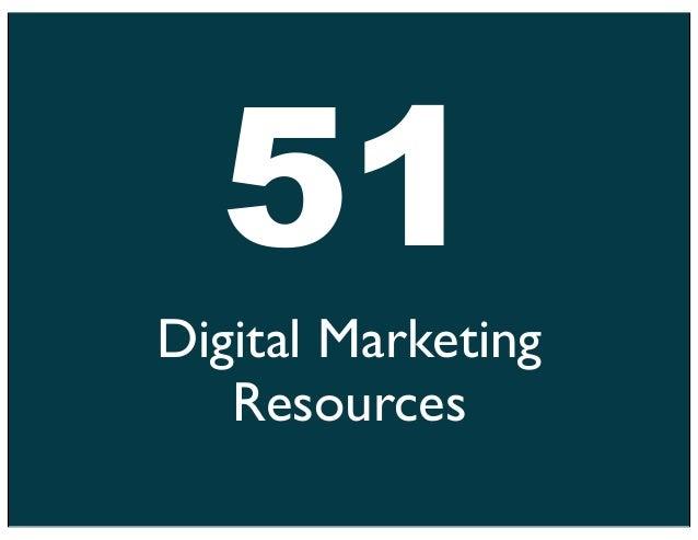 51Digital Marketing   Resources