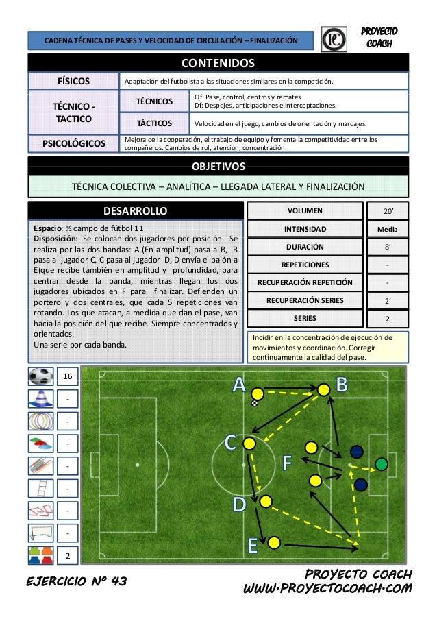 50 ejercicios de entrenamiento de fútbol