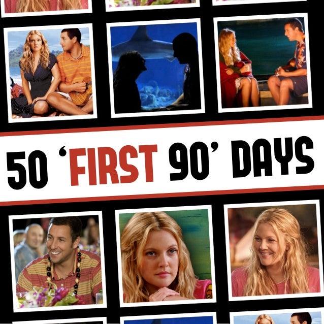50 'FIRST 90' DAYS