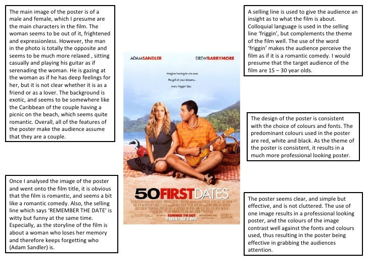 50 first dates movie summary