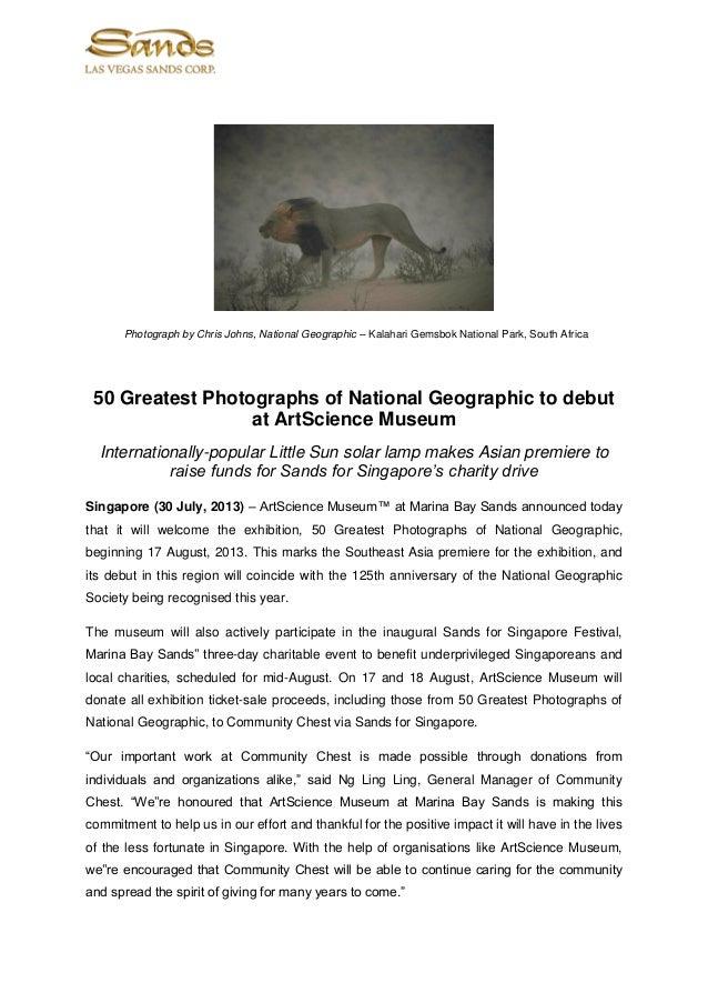 Photograph by Chris Johns, National Geographic – Kalahari Gemsbok National Park, South Africa 50 Greatest Photographs of N...