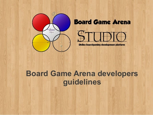Board Game Arena developers        guidelines