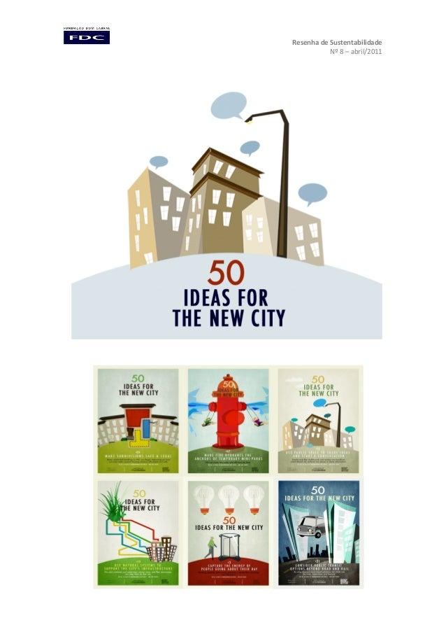 Resenha de Sustentabilidade Nº 8 – abril/2011
