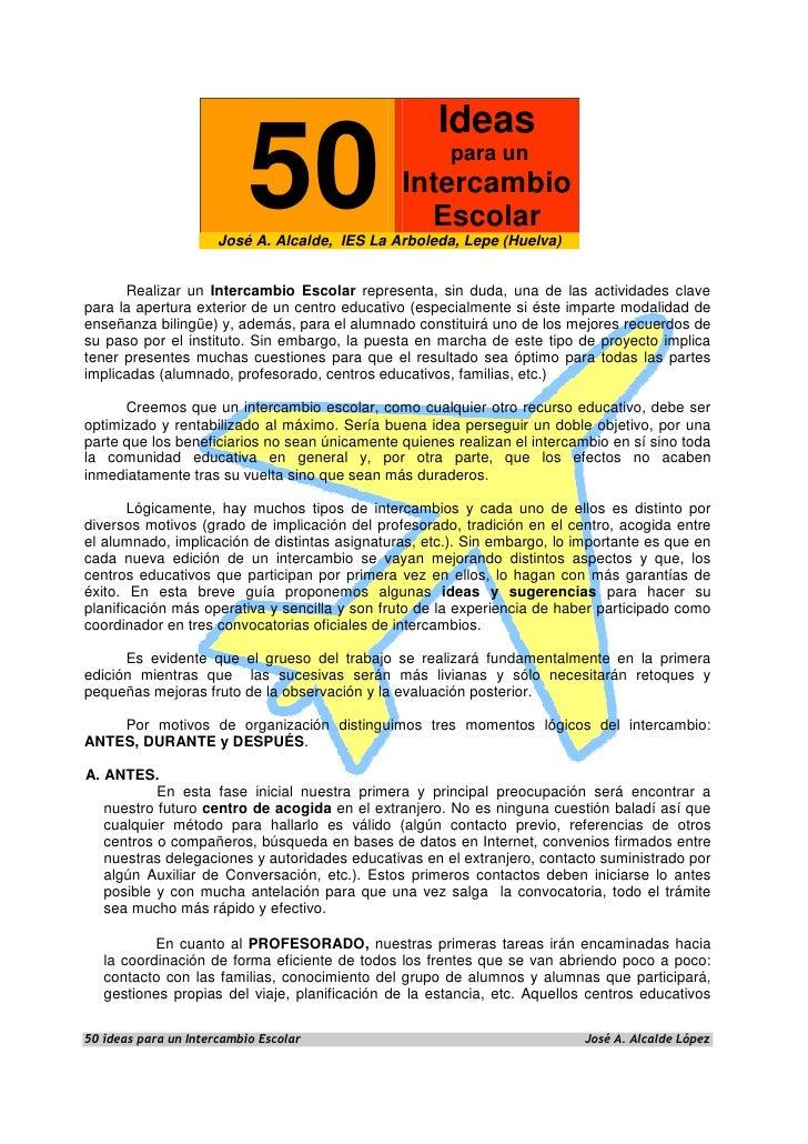Ideas                          50                            para un                                                 Inter...
