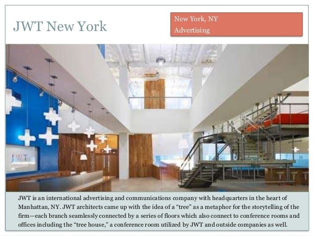 Jwt new york office Night Club Jwt New York Slideshare The Most Creative Office Spaces Part